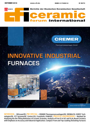 new issue of ceramic forum international (2016-october)
